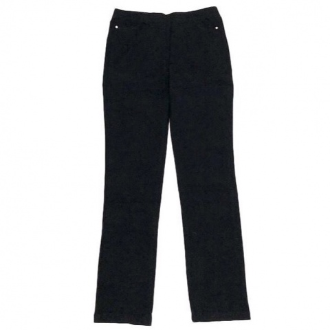Sugar Crisp Black Straight Leg Denim Jeans