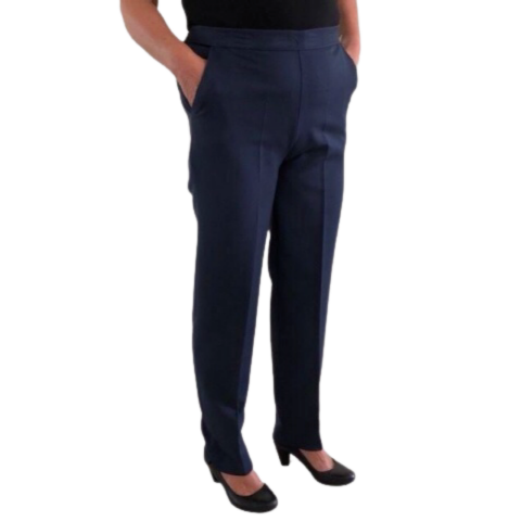 Emma Light Navy Trousers