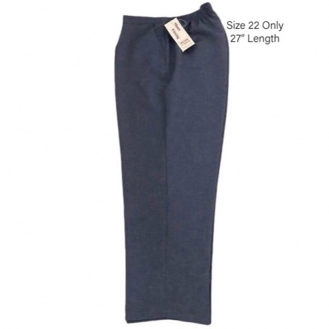 Nicole Lewis Light Blue Thick Trousers